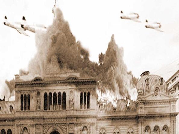Захват Перона и штурм президентского дворца 1955 год
