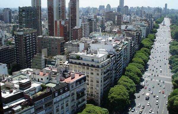 Районы Буэнос-Айреса Palermo и Recoleta